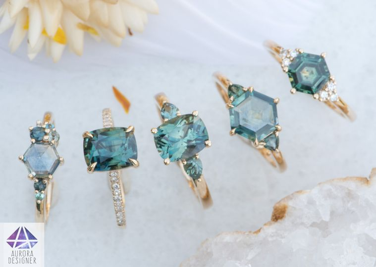 Full Range of Sapphire Rings