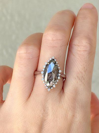 Statement Marquise diamond ring