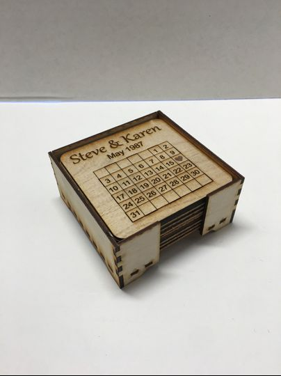 Coasters - 8 pack w/tray
