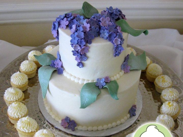 Tmx 1358791106168 90thBirthdayCakeCupcakesMain Seattle wedding cake