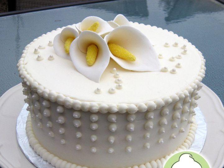 Tmx 1358791130627 CallaLilyWeddingCakeMain Seattle wedding cake
