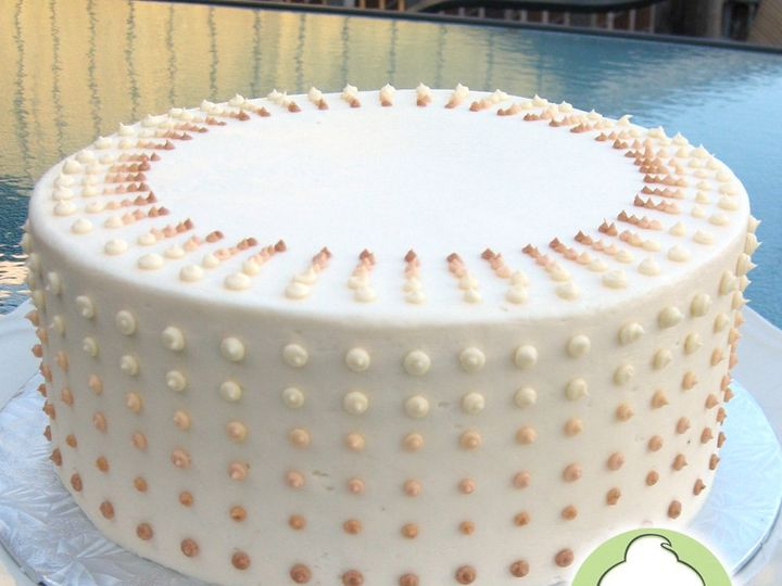 Tmx 1358791137842 DottedOmbreCakeMain Seattle wedding cake