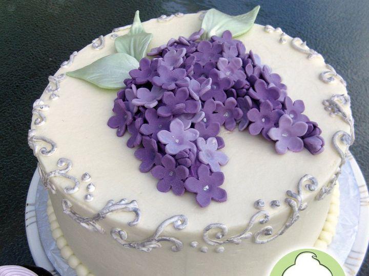 Tmx 1358791141199 LilacsWeddingCakeMain Seattle wedding cake
