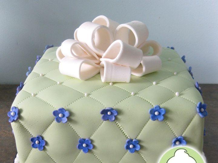 Tmx 1358791156370 QuiltedGiftBoxBridalShowerCakeMain Seattle wedding cake