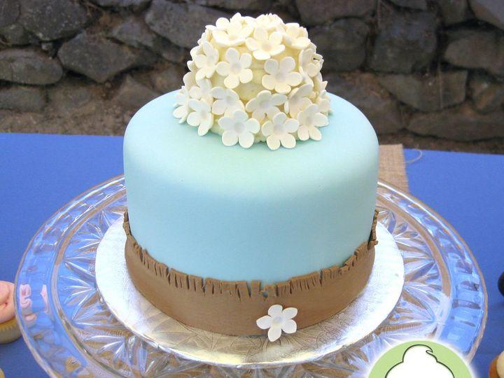 Tmx 1358829773514 BlueBurlapCuttingCakeMain Seattle wedding cake