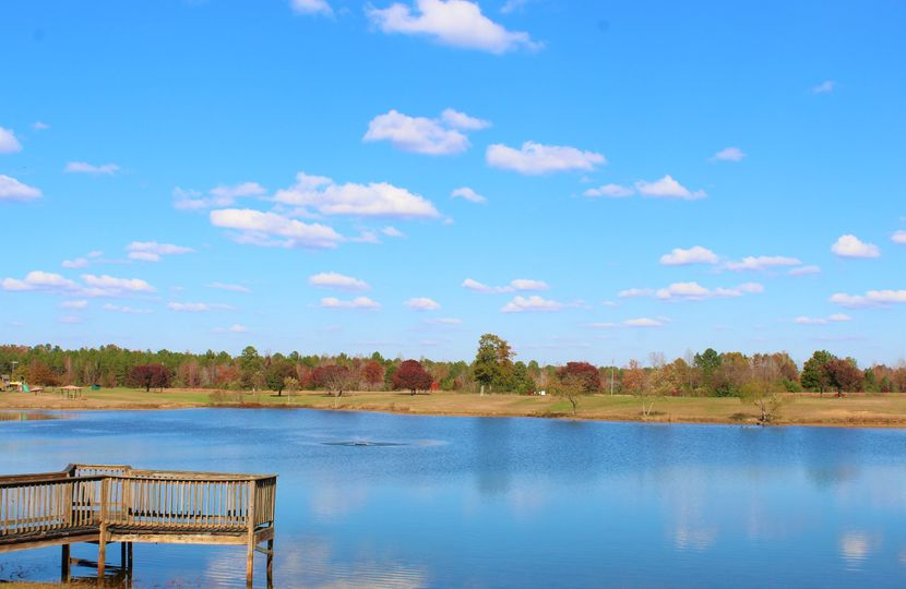 Goulding Lake in the fall