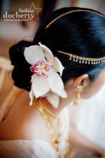 Hindu bride before wedding