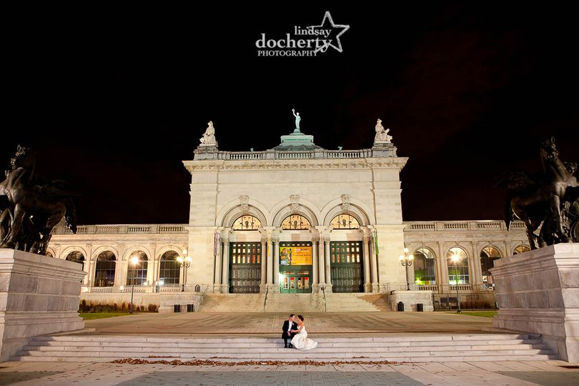 Bride + Groom at Please Touch Museum in Philadelphia, PA