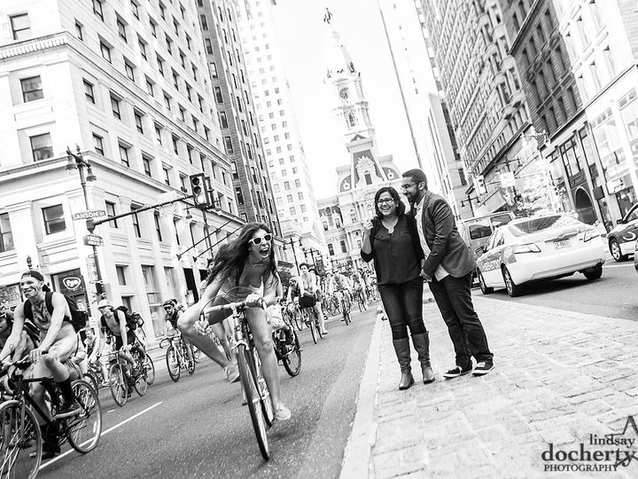 Tmx 1401300482441 Naked Cyclists At Philly Engagement Session Ld Philadelphia, PA wedding photography
