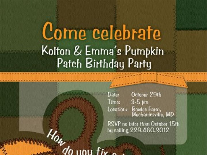 Tmx 1316483840181 BdayInvitation Browns Mills wedding invitation