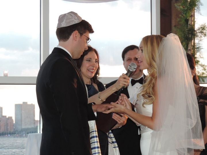 As vows are spoken
