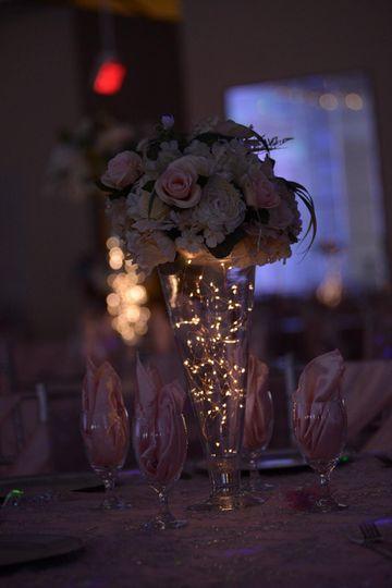 Illuminated vases