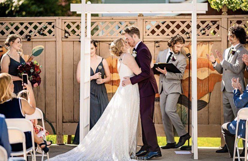 Upper Patio Wedding
