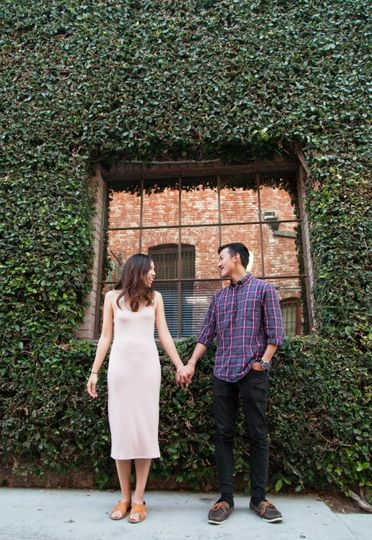 Downtown Fullerton Engagement