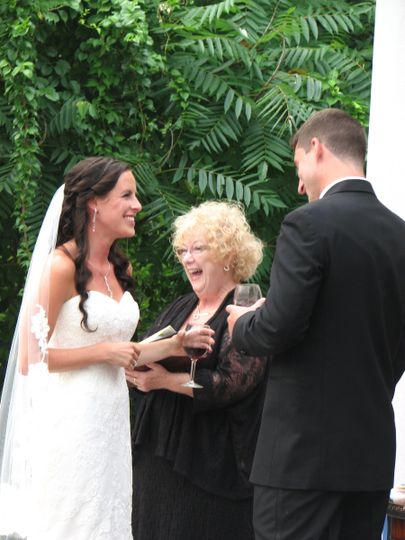 Siusi and Mike wanted their ceremony to have a fun and light-hearted feel