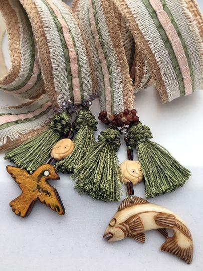 Custom cord with spirit totems