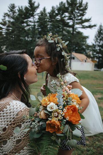 Ceremony personal flowers