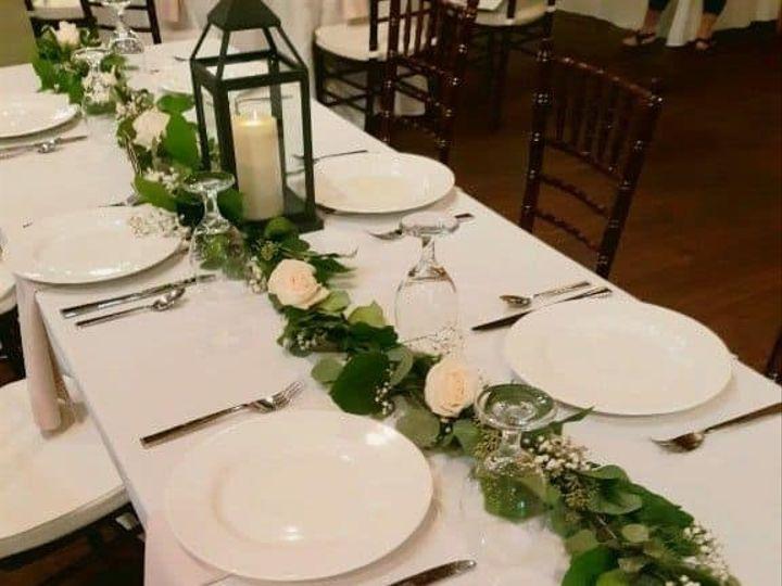 Tmx Floral Garland With White Flowers Brick Gables 51 782503 157832365065856 Allentown, PA wedding florist
