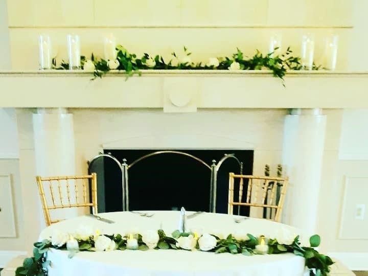 Tmx Green Garland Sweetheart Table 51 782503 157832365021155 Allentown, PA wedding florist