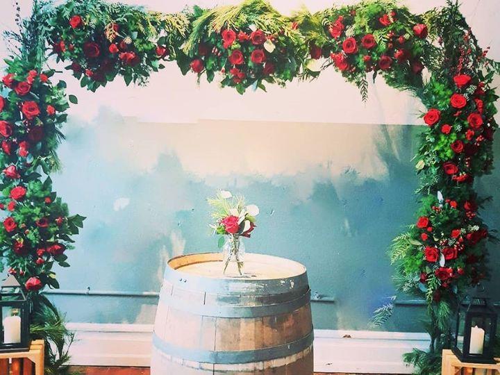 Tmx Red Rose Christmas Arbor 51 782503 157832365038858 Allentown, PA wedding florist