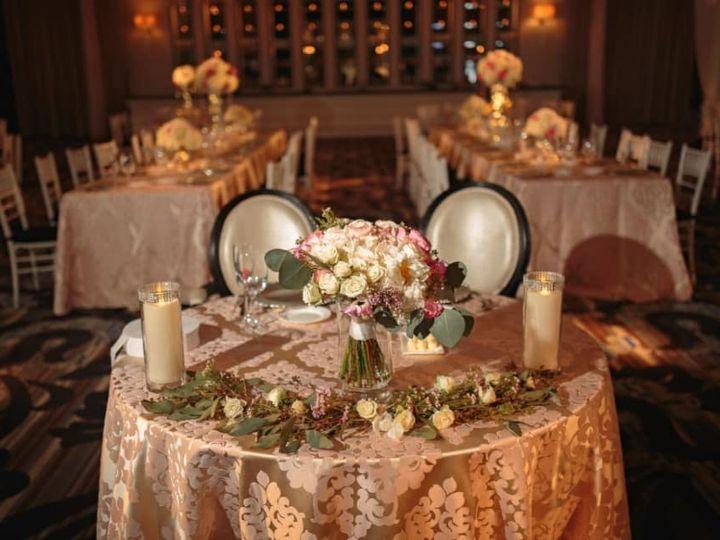 Tmx Sweetheart Table With Bouquet Vie Irene Tran 51 782503 V2 Allentown, PA wedding florist
