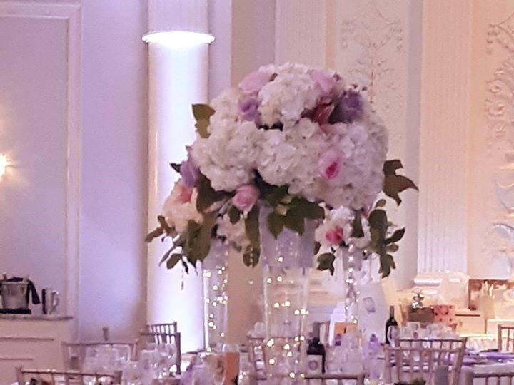 Tmx Tall Lavendar Centerpiece With Fairy Lights 51 782503 157832365220713 Allentown, PA wedding florist