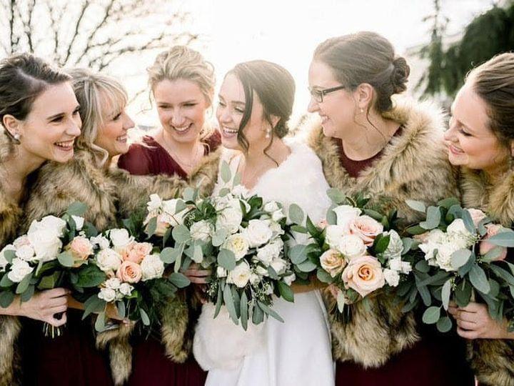 Tmx Winter Bridal Party Bouquets 51 782503 157832365282981 Allentown, PA wedding florist