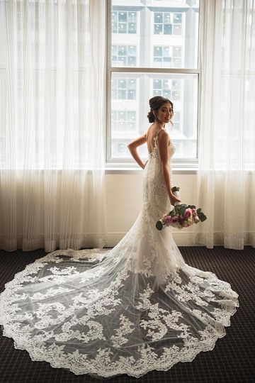 Bridal cameo at the Omni