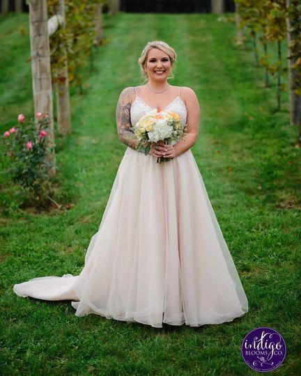 Bride at Folino Estate