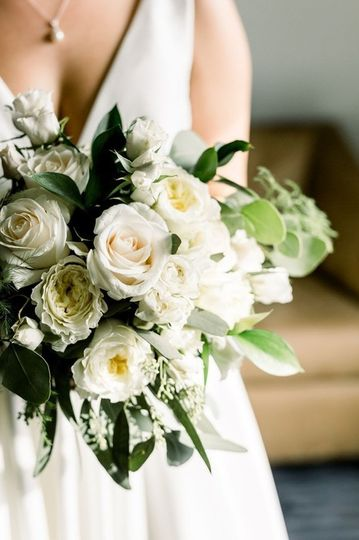 Bridal Bouquet Cameo