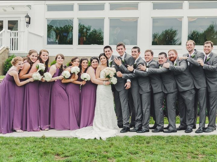Tmx 1455148175056 Bridal Party Outside The Arbor Room Warrington, Pennsylvania wedding venue