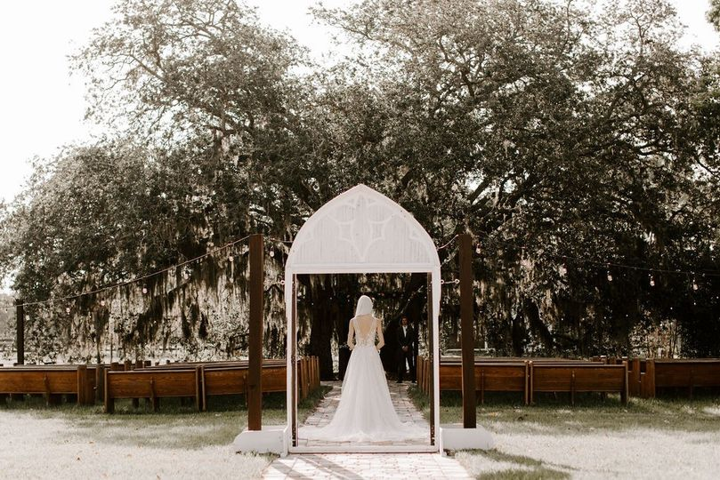 Breathtaking Ceremony Site