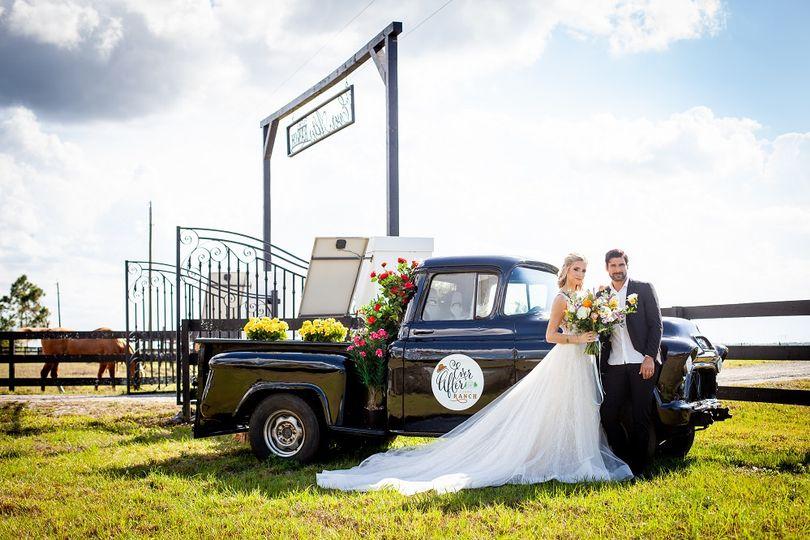 Rustic Flower Truck
