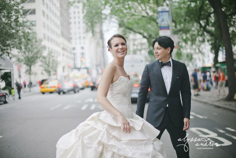 NYC Wedding -  The Plaza Hotel, NY, New York. Destination Wedding