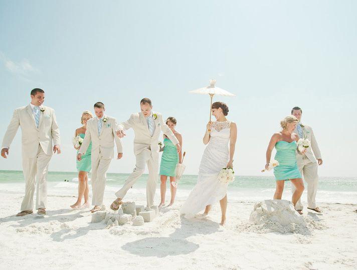 Sarasota, Florida Destination Wedding at The Ritz Carlton Members Only Club