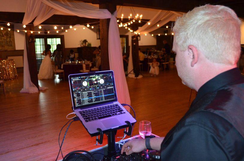 Mixing at a wedding