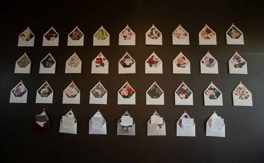Sample invitation envelopes