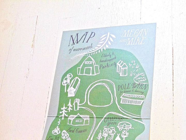 Tmx 1403549170705 Mikemegan Map Duluth, MN wedding invitation