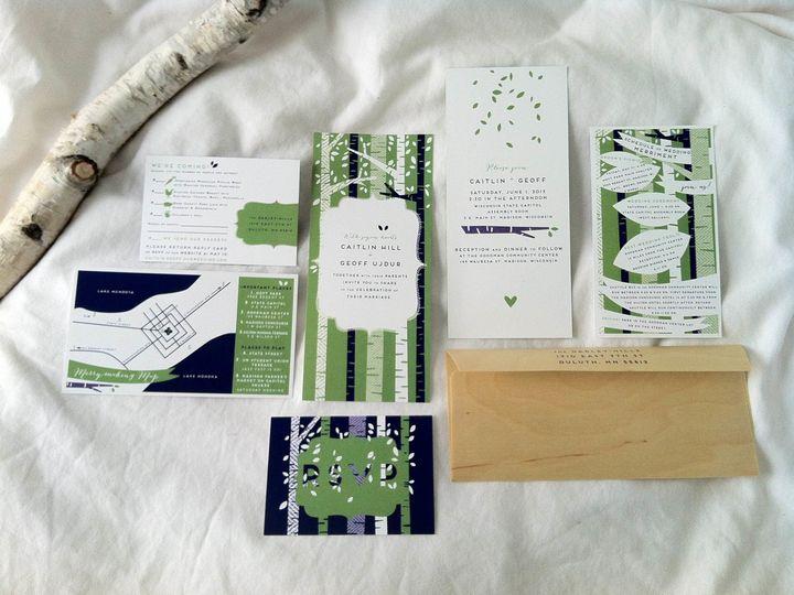 Tmx 1403549337284 Photo6 Duluth, MN wedding invitation