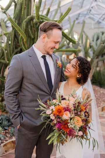 Bride and Groom Portrait