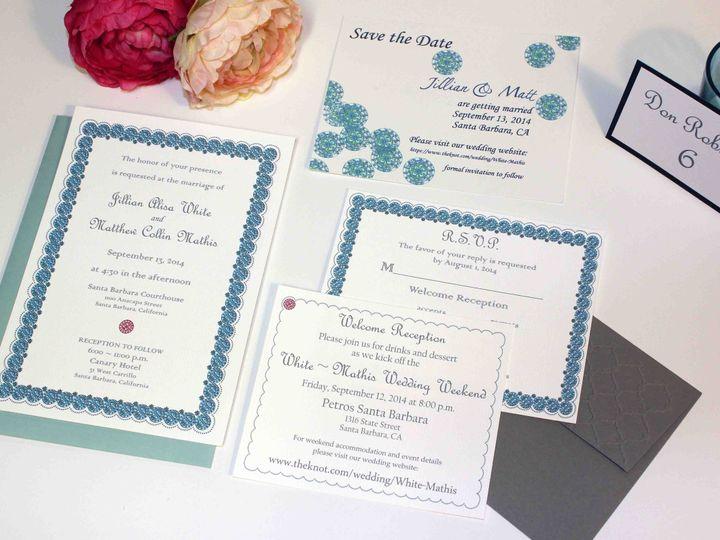 Tmx 1444167450321 Tknotesweddingscanaryhotelsanta Barbara 1 San Francisco wedding invitation