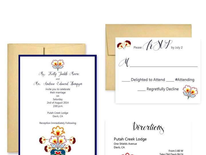 Tmx 1453682622428 Folk San Francisco wedding invitation