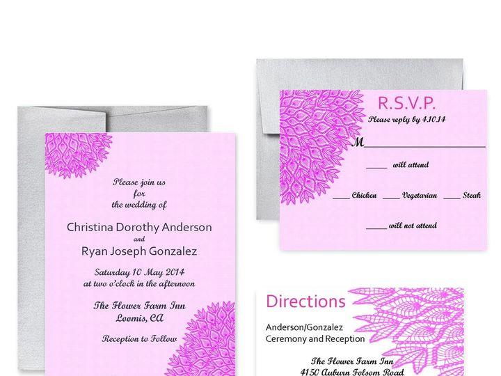 Tmx 1453682645119 Lace San Francisco wedding invitation