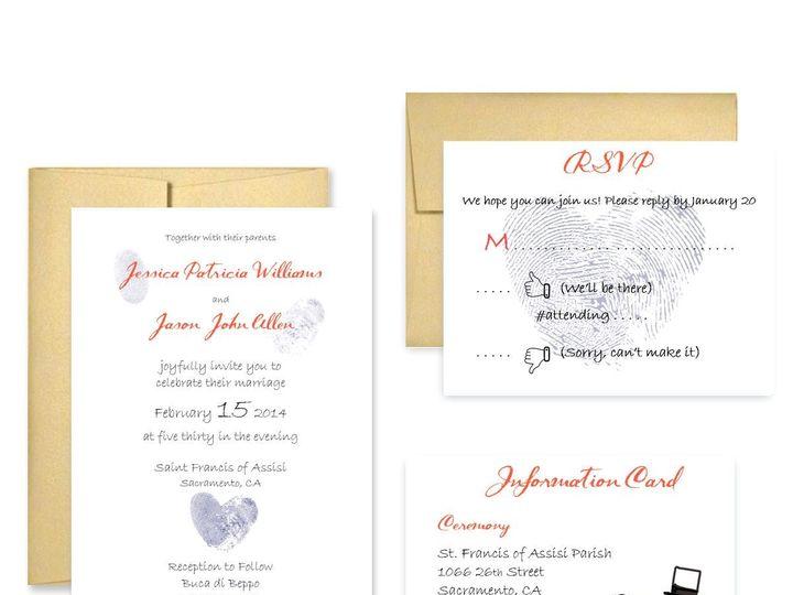 Tmx 1453682665762 Thumb San Francisco wedding invitation