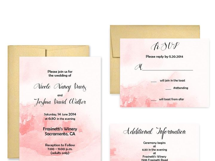 Tmx 1453682682026 Wash San Francisco wedding invitation