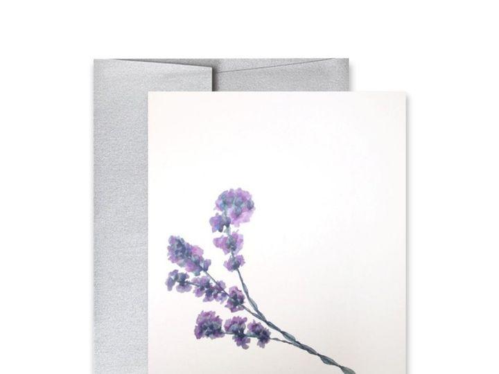 Tmx 1453689326599 Flowerlavender Ty San Francisco wedding invitation