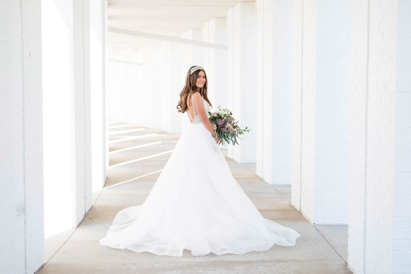 Glam Dress for a Glam Bride