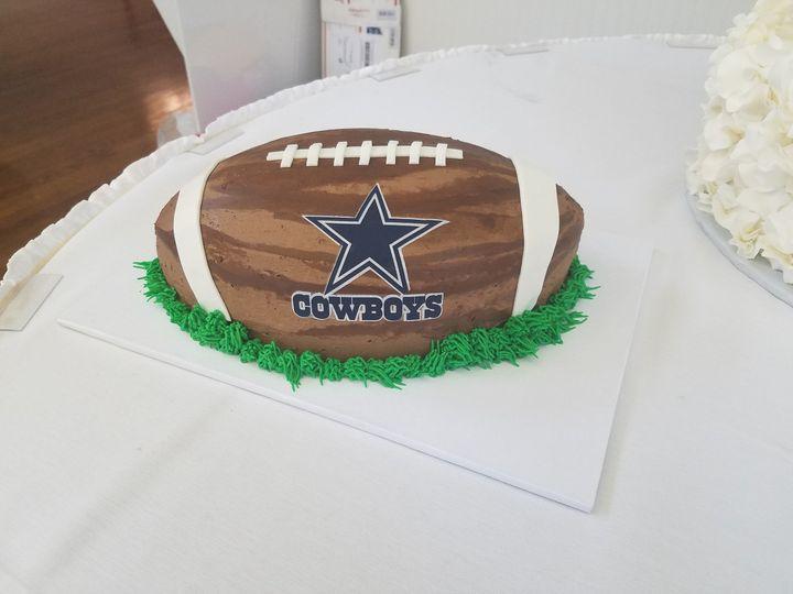 NFL grooms cake!