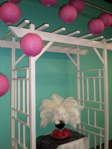 Poppyscott Events in Sioux City party rentals has arches and gazebos available to rent for your...