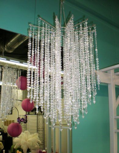 Chandelier available to rent for your wedding or party at Poppyscott Events, Sioux City, IA